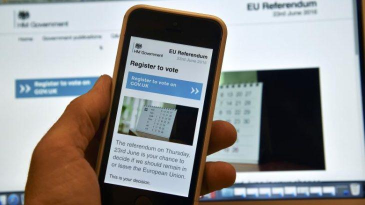 Uebsajti i referendumit Brexit mund të ketë qenë shënjestër e një sulmi kibernetik