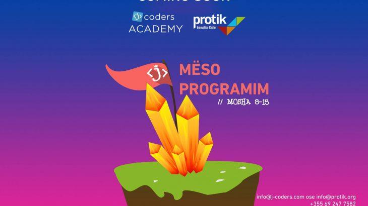 jCoders hap aplikimet për Akademinë Verore, në Shtator mbërrin në Tiranë